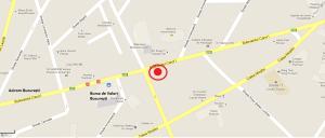 Localizarea Cabinetului Magick Harmony-București
